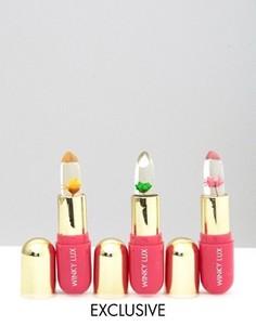 Набор бальзамов для губ с цветами Winky Lux эксклюзивно для ASOS - СКИДКА 35 - Прозрачный