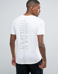 Белая футболка с карманом Nike Jordan Pure Money 850419-100 - Белый