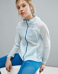 Спортивная куртка с капюшоном Nike - Синий