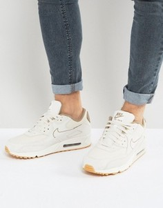 Серые кроссовки-премиум Nike Air Max 90 700155-004 - Серый