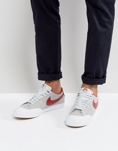 Бежевые кроссовки Nike SB Blazer Zoom XT 864348-061 - Бежевый