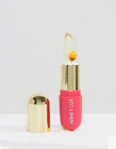 Бальзам, проявляющий цвет в зависимости от уровня pH кожи губ, с желтым цветком Winky Lux - Прозрачный