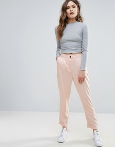 Строгие брюки B.Young - Розовый