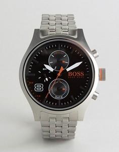 Серебристые часы BOSS Orange By Hugo Boss Amsterdam 1550024 - Серебряный