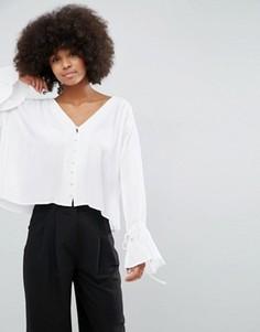 Блузка с широкими рукавами Unique21 - Белый