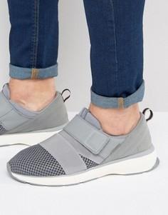 Сетчатые кроссовки с ремешками Jack & Jones Arton - Серый