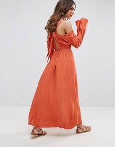 Платье макси Somedays Lovin - Красный