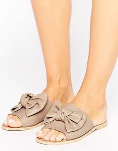 Кожаные сандалии Park Lane - Бежевый