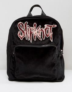Черный рюкзак Sacred Hawk Slipknot - Черный