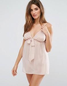 Пижамный комплект из топа и трусиков Bluebella Phoebe - Розовый