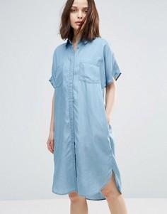 Платье-рубашка Soaked In Luxury Dani - Синий
