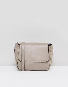Структурированная сумка через плечо Yoki Fashions - Stone