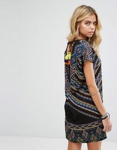 Платье с принтом и завязкой на спине Noisy May - Мульти
