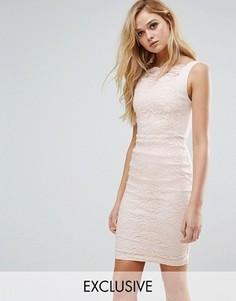 Кружевное платье-футляр Vesper - Мульти