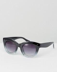 Солнцезащитные очки с эффектом омбре на стеклах AJ Morgan - Черный