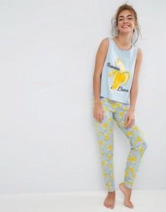 Пижама с леггинсами и майкой ASOS - Мульти
