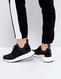 Черные кроссовки adidas Originals NMD R2 - Черный