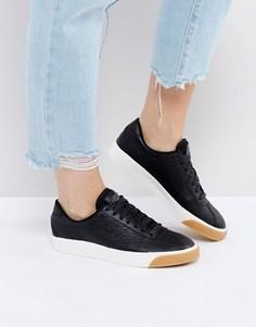 Черные кожаные кроссовки Nike Match Classic Premium - Черный