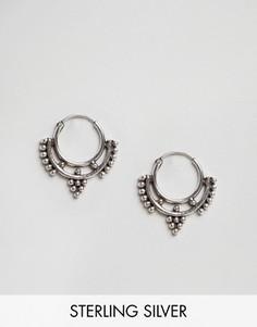 Cерьги-кольца Fashionology - Серебряный