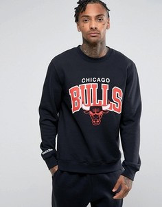 Свитшот Mitchell & Ness Chicago Bulls NBA - Черный