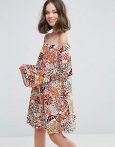 Платье-туника Glamorous - Мульти