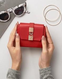 Маленький кошелек с откидным клапаном Fiorelli Evie - Красный