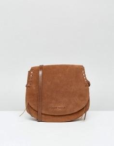 Замшевая сумка Jack Wills - Рыжий