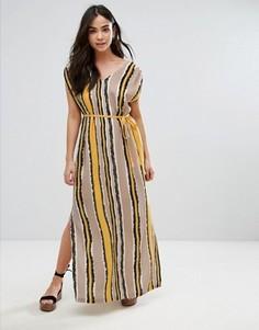 Платье макси в полоску Orion Lottie - Мульти