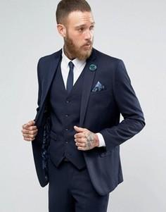 Синий пиджак Harry Brown - Синий
