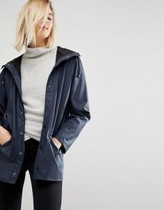Непромокаемая куртка Rains - Темно-синий