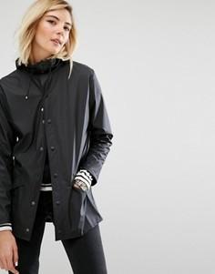 Непромокаемая куртка Rains - Черный
