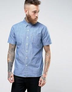 Рубашка из ткани шамбре с короткими рукавами и 1 карманом Levis - Синий Levis®