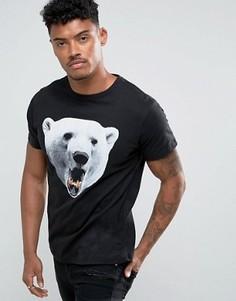 Футболка D-Struct Polar Bear - Черный
