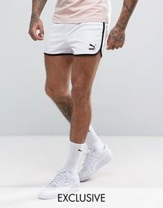 Белые сетчатые шорты в стиле ретро Puma эксклюзивно для ASOS - Белый