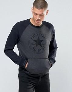 Черный свитшот Converse 10001106-A02 - Черный