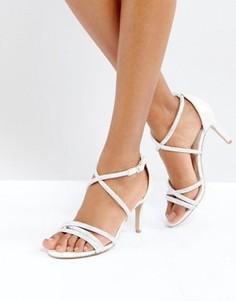 Босоножки на каблуке с декоративной отделкой Carvela - Белый