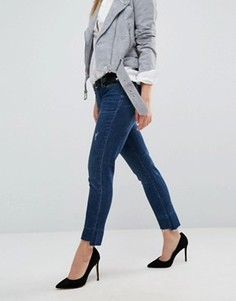 Рваные джинсы бойфренда Blank NYC - Синий