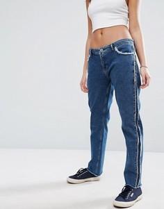 Джинсы в винтажном стиле с необработанными краями Tommy Hilfiger Denim - Синий