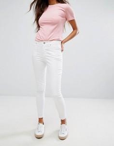 Укороченные супероблегающие джинсы Jack Wills Fernham - Белый