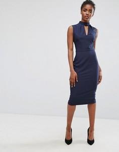 Платье-футляр Alter - Темно-синий