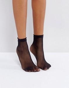 Носки в мелкую сетку Gipsy - Черный