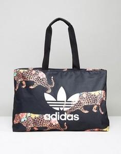 Большая сумка-шопер adidas ONCADA - Черный