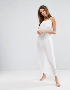 Длинная ночная рубашка Bluebella Georgia - Белый