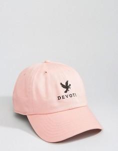 Розовая бейсболка Devote - Розовый