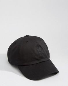 Черная бейсболка Devote - Черный