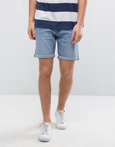 Джинсовые шорты с отворотами Selected Homme - Синий
