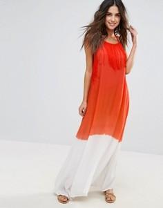 Пляжное платье макси Anmol - Оранжевый