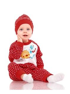 Комбинезоны нательные для малышей Апрель