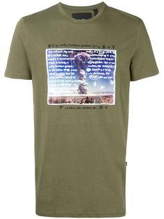 футболка с принтом взрыва Blood Brother
