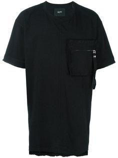 футболка с нагрудным карманом на молнии Blood Brother